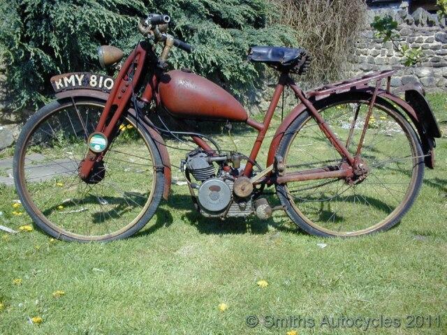 Smiths Autocycles 1952 Britax Cucciolo