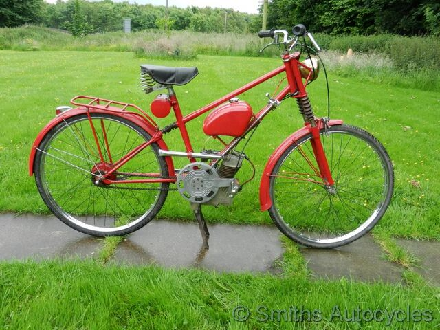 Us Auto Sales >> Smiths Autocycles - Raleigh RM2 - 1960