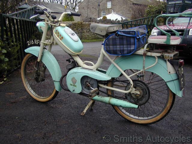 Vap Auto : smiths autocycles 1958 auto vap ~ Gottalentnigeria.com Avis de Voitures